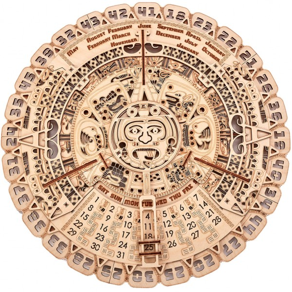 Wood Trick: Mayan Calendar