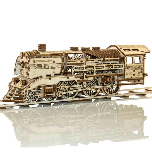 Wooden.City: Express Train + Rails