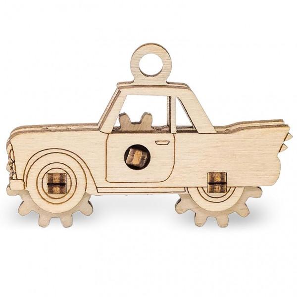 Eco Wood Art: Ewick Car