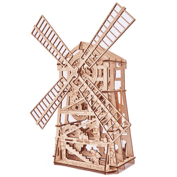 Wood Trick: Windmill 2