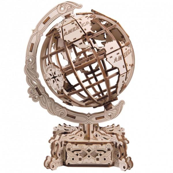 Wooden.City: World Globe