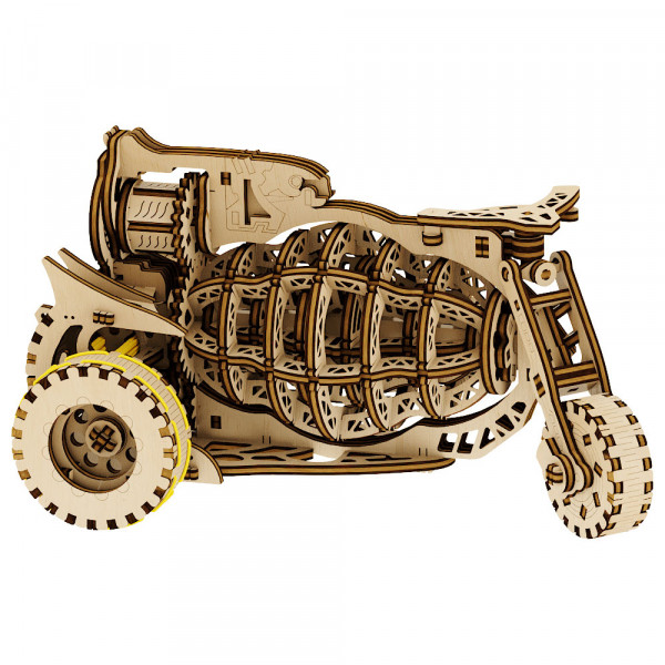 """Mr. Playwood: Mechanical Machine """"Starbike"""""""