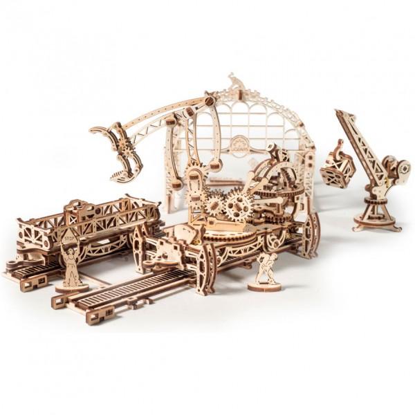 Ugears Rail Manipulator (Mechanical Town Series)