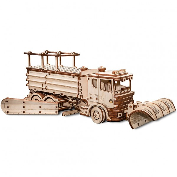 Eco Wood Art: Snowtruck