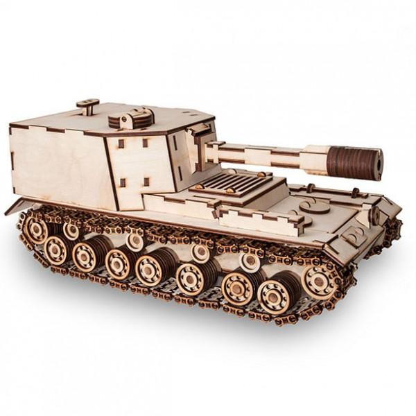 Eco Wood Art: Tank SPG212