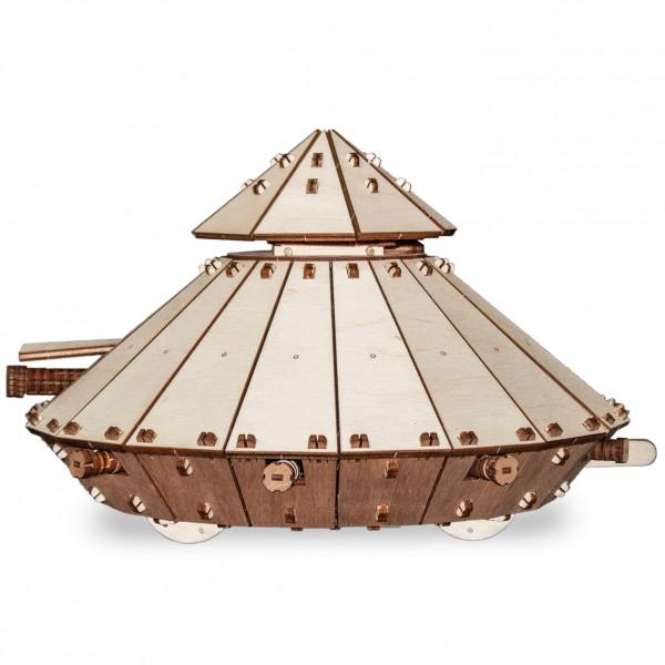 Eco Wood Art: Da Vinci Tank