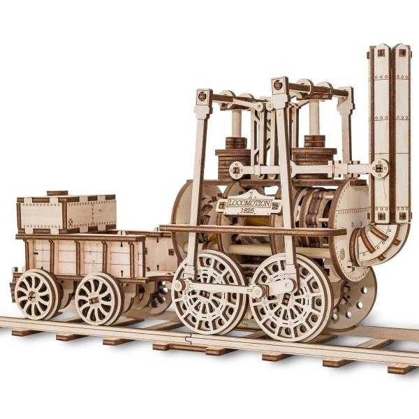 Eco Wood Art: Lokomotive Nr. 1
