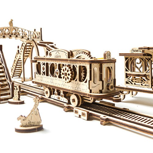 Ugears Tram Line (Mechanical Town Series)