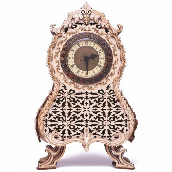 Wood Trick: Vintage Clock
