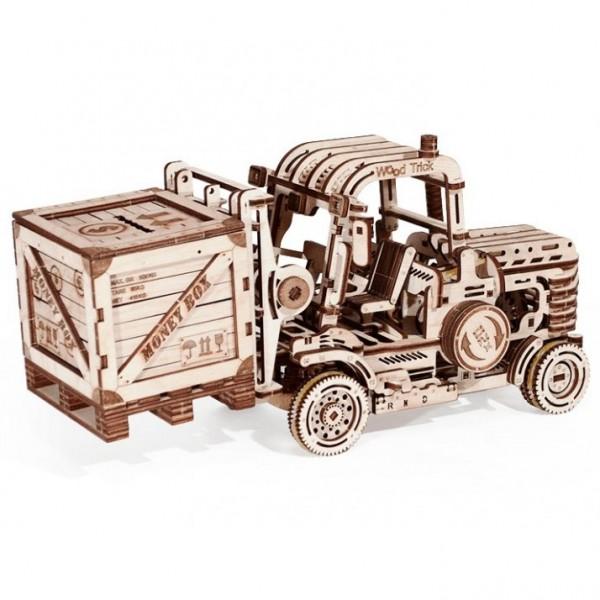 Wood Trick: Forklift (Gabelstapler)
