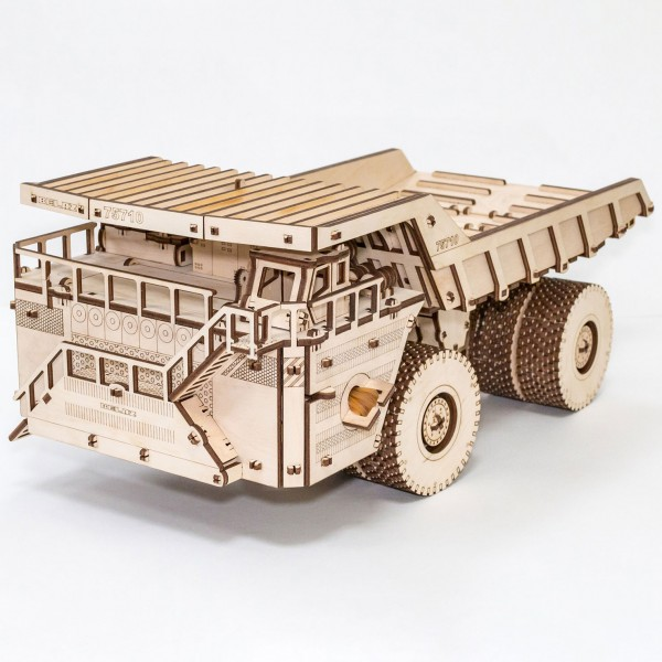 Eco Wood Art: Belaz 75710