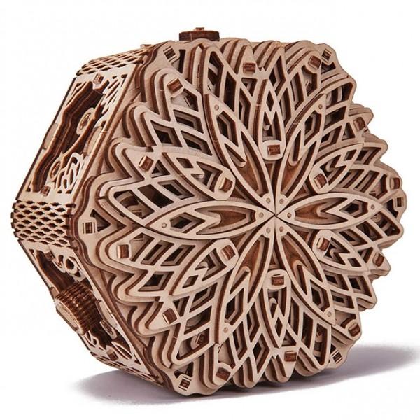 Wood Trick: Mystery Flower