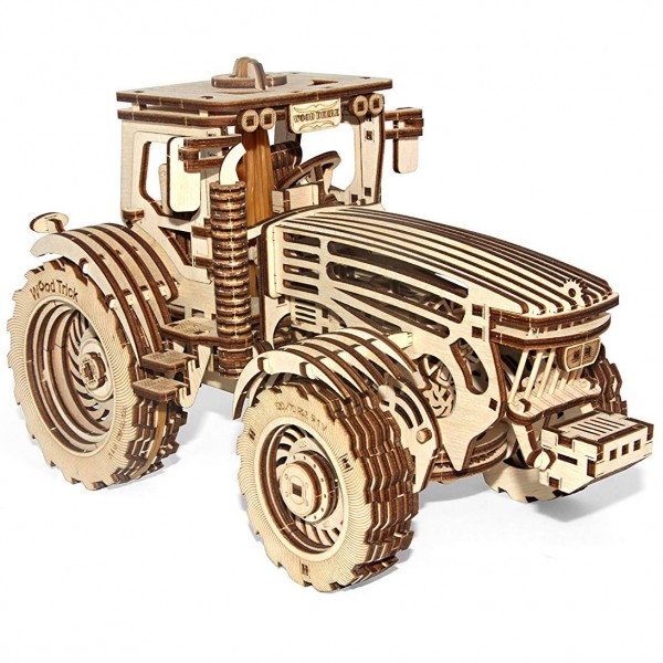 Wood Trick: Traktor