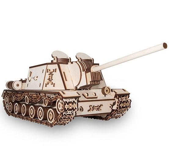 Eco Wood Art: Tank ISU152